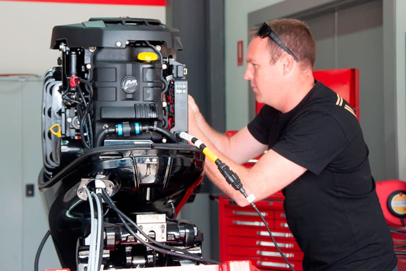 mercury marine engine repair